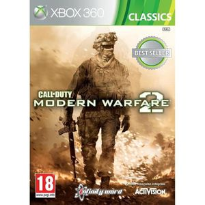 JEU XBOX 360 Call Of Duty Modern Warfare 2 Jeu Xbox 360