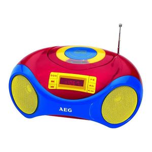 RADIO CD CASSETTE AEG SR 4363 CD Radio Karaoké Pour Enfants - CD-R/R