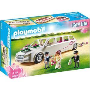 UNIVERS MINIATURE PLAYMOBIL 9227 - City Life - Limousine et Couple d