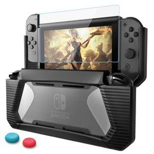 HOUSSE DE TRANSPORT Nintendo Switch Coque avec Protection Écran, TPU P