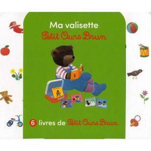 LIVRE 0-3 ANS ÉVEIL Petit Ours Brun : Ma valisette. Coffret en 6 volum