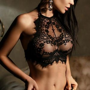 SOUTIEN-GORGE Mode Femme Lingerie sexy en dentelle fleurs Push U