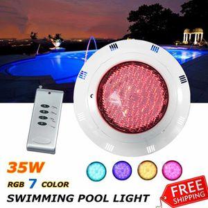 PROJECTEUR - LAMPE NEUFU 12V 35W 252 LED RGB AMPOULE LAMPE PROJECTEUR