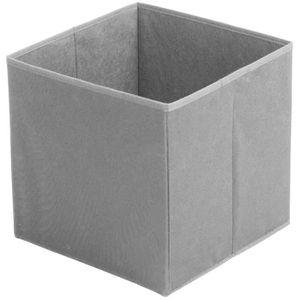 CASIER POUR MEUBLE Cube Panier De Rangement Pliable Avec Poignée Déco