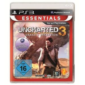 JEU PS3 UNCHARTED 3 : DRAKE'S DECEPTION - ESSENTIALS [I…