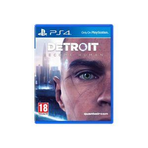JEU PS4 Detroit: Become Human PlayStation 4