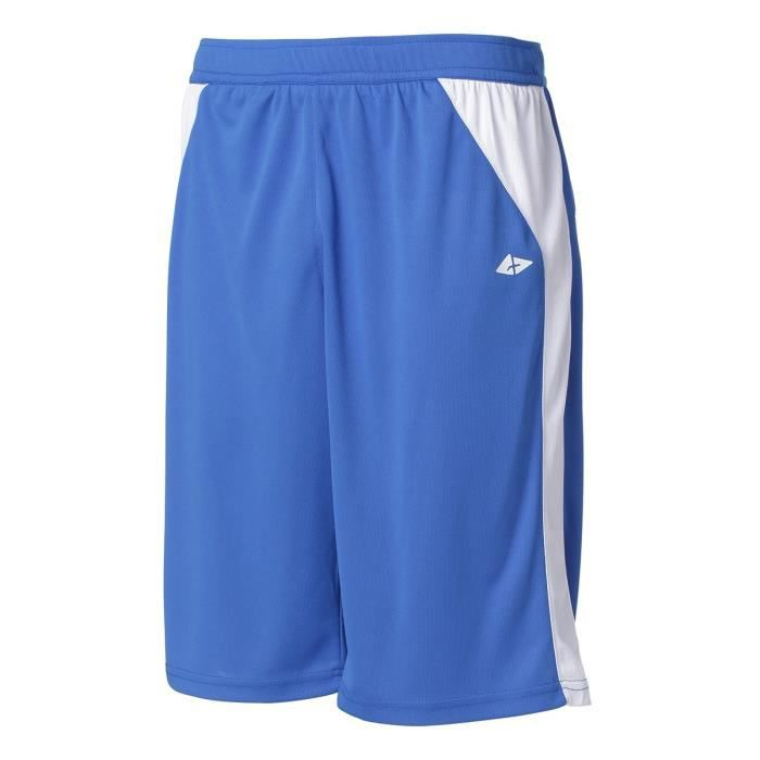 ATHLI-TECH Short de Basketball Bastian Berm - Homme - Bleu