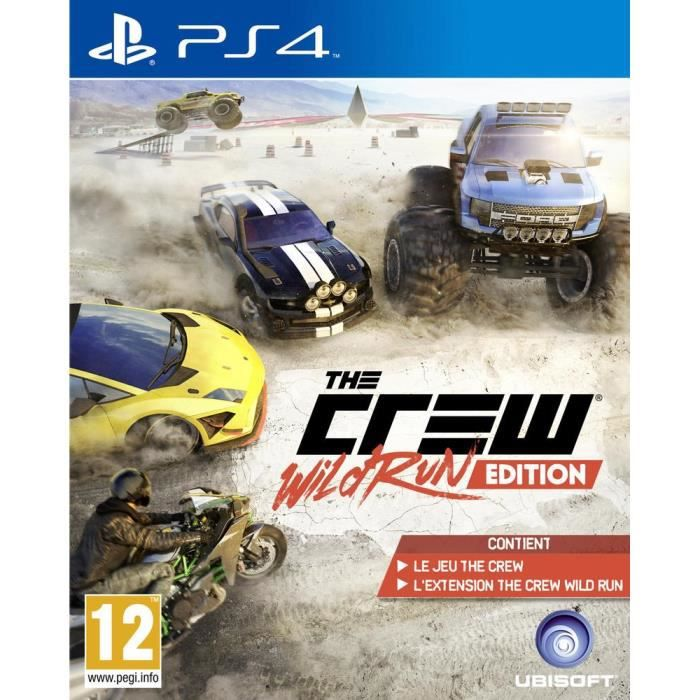 the crew wild run jeu ps4 achat vente jeu ps4 the crew wild run ps4 soldes d t cdiscount. Black Bedroom Furniture Sets. Home Design Ideas