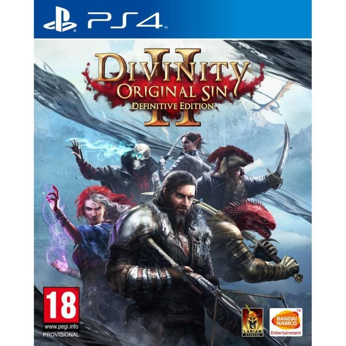 Divinity: Original Sin 2 - Definitive Edition Jeu PS4