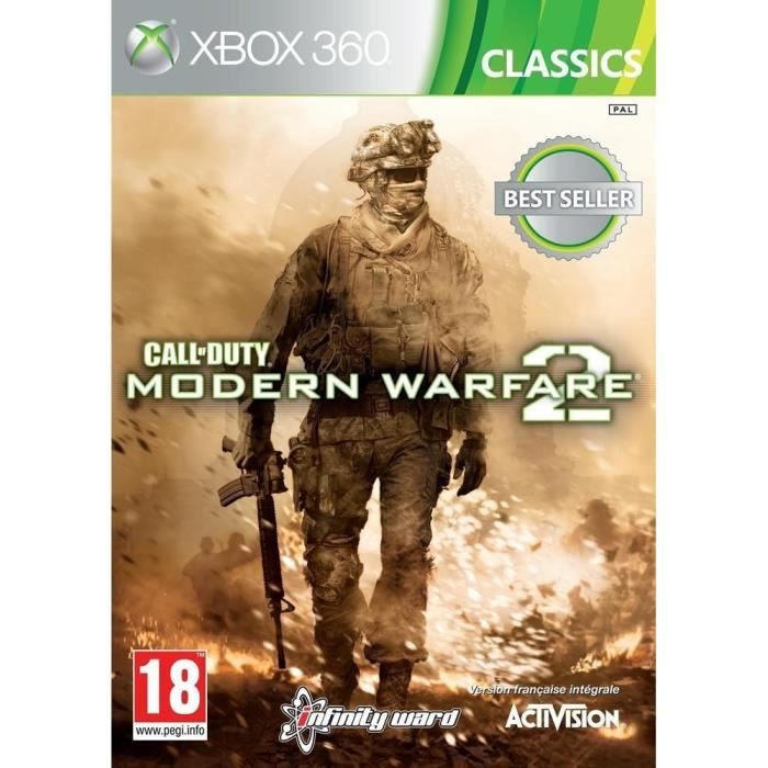 JEUX XBOX 360 Call Of Duty Modern Warfare 2 Jeu Xbox 360