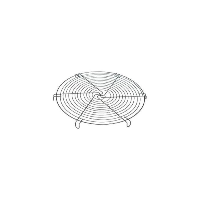 Volette à pâtisserie - D 32 x H 1,8 cm - Acier chromé Argenté