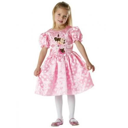 Minnie mouse - deguisement rose (taille 5/6 ans)
