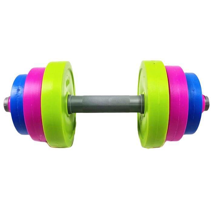 1 Set - 9 pcs Pratique Enfants Barbell Bodybuilding Équipement D'exercice Formation Bras Muscle Fitness pour Enfants Gym Maison (S