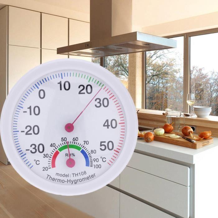 PACK OUTIL A MAIN Thermomètre intérieur extérieur température mètre hygromètre humidité horloge en forme LZQ81116812_365