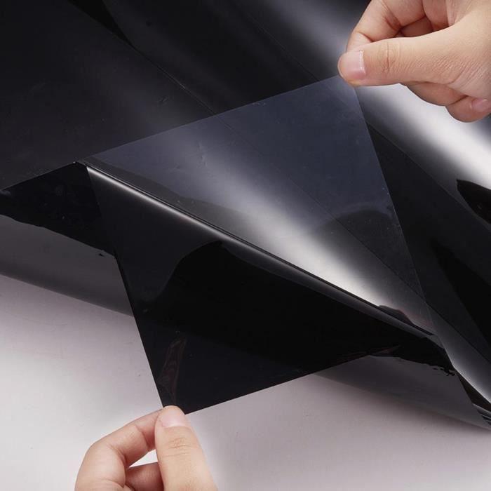 Film de teinte pour vitres de voiture - Autocollant solaire pour maison, Protection sol - Modèle: Black One percent - ANQCFSYA00603
