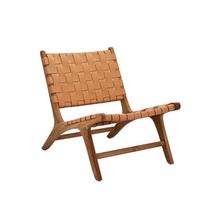 Villa Collection - Chaise longue bois LIVING - Beige