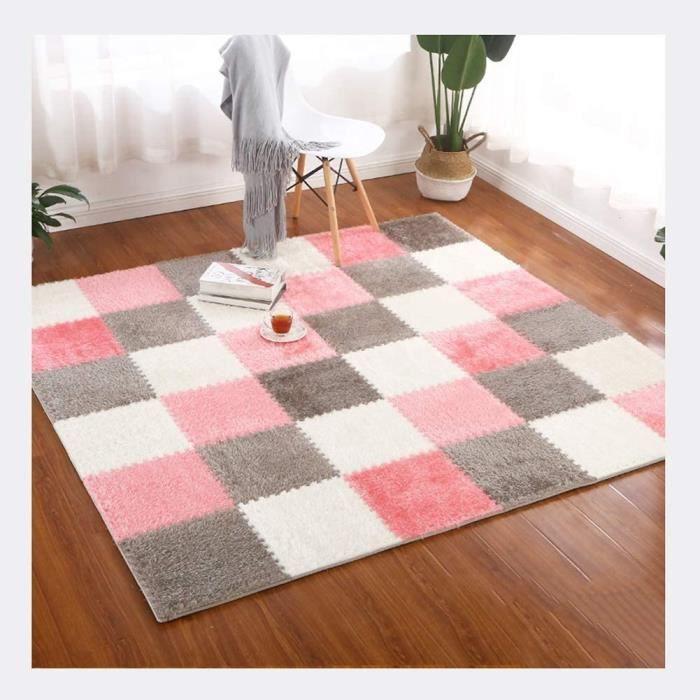 Puzzles de sol RUIRUIY Tapis Mousse Enfant PE Suède Tapis De Protection for Sols Ménage Chambre Tapis Yoga, 12 Couleurs, 319888