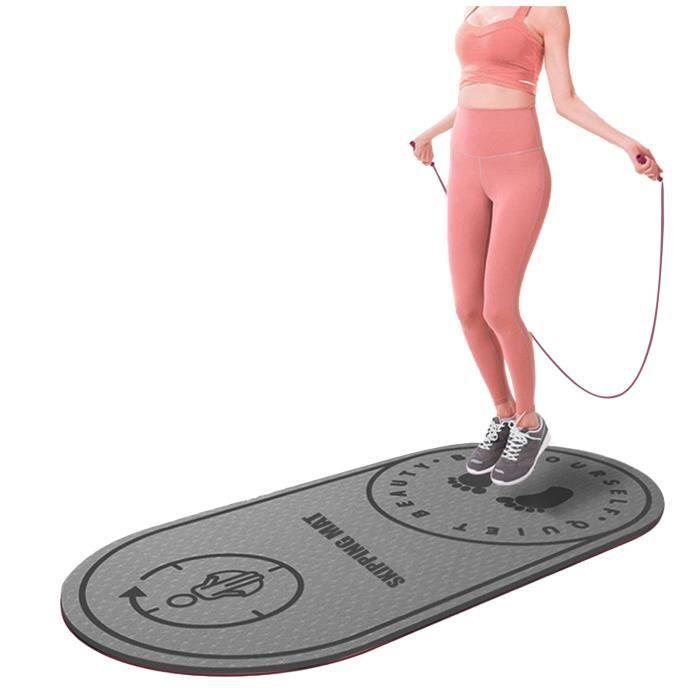 Tapis de yoga corde à sauter tapis de sol silencieux bruit tapis de sol corde à sauter tapis à sauter Miaienu 616