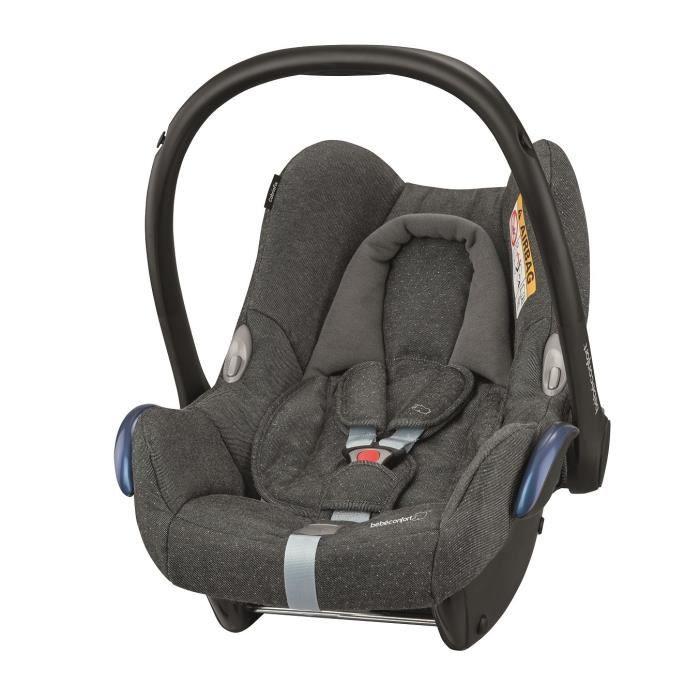 BEBE CONFORT Siège auto Cabriofix Groupe 0+ - Sparkling Grey, dès la naissance