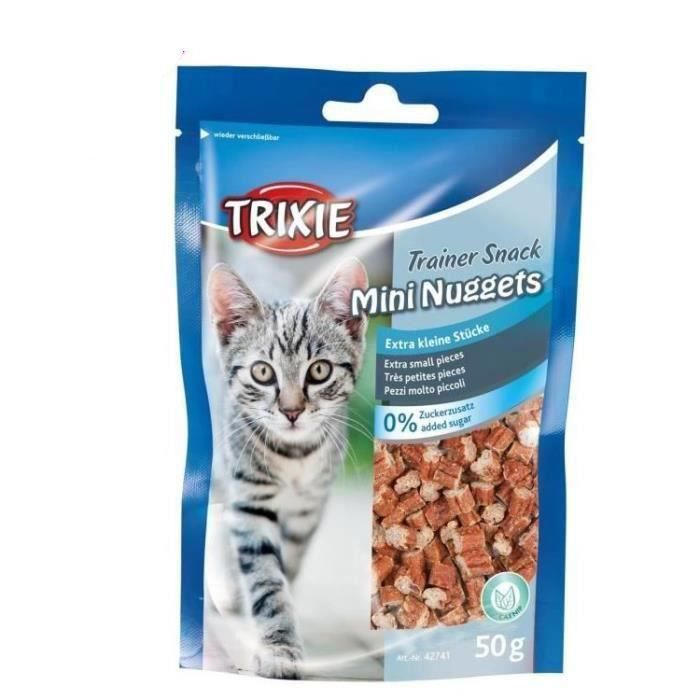TRIXIE Trainer Snack Mini Nuggets - Pour chat - 2 x 50 g