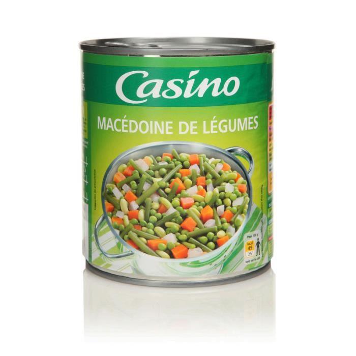 CASINO - Macédoine de Légumes 530G