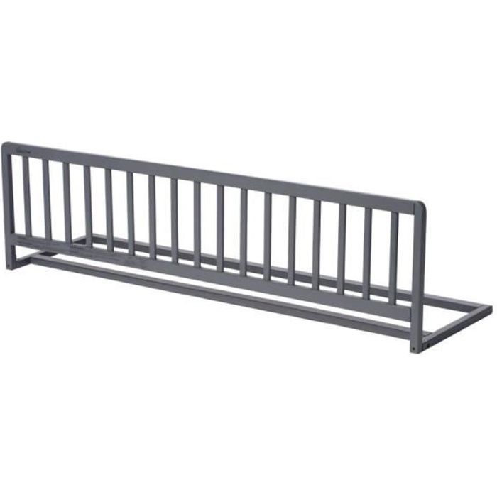 GEUTHER Barriere de lit Sweet Dream 140 cm rabattable en hêtre massif - coloris gris