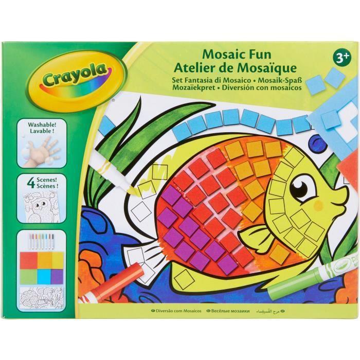 Crayola - Atelier de Mosaïque - Activités pour les enfants
