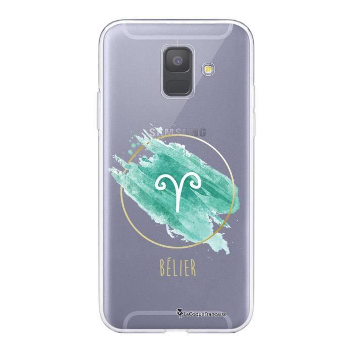 Coque Samsung Galaxy A6 2018 360 intégrale transparente Bélier Ecriture Tendance Design La Coque Francaise