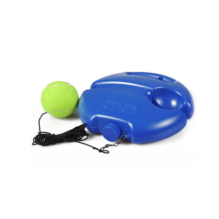 LEMONBEST® Outil D'Entraînement De Tennis Robuste Exercice Balle De Tennis Sport Balle De Rebond D'Auto-Étude