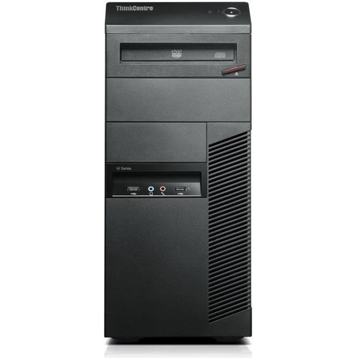 Lenovo Thinkcentre Thinkcentre M90p, 3,2 Ghz, Intel Core i5 xxx, 4 Go, 320 Go, Dvd Rw, Windows 7 Professional