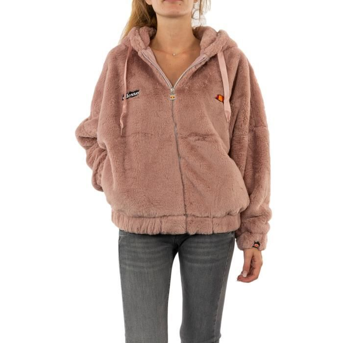 Gilets Cardigans Ellesse Giovanna Pin Pink