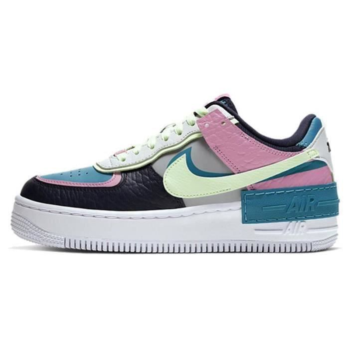 Basket Air Force 1 Shadow Air Force One AF 1 Low Chaussures de Running Femme CK3172-1001