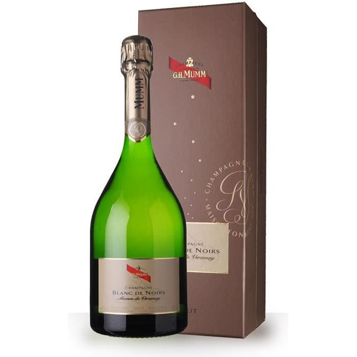 Mumm Blanc de Noirs 75cl Brut - Coffret - Champagne