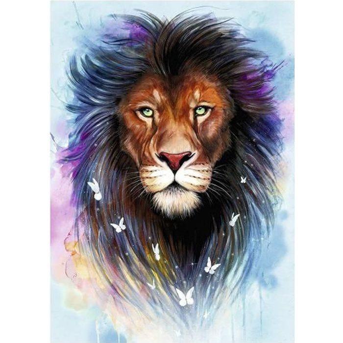 Puzzle Adulte : Le Lion Le Roi Des Animaux - 1000 Pieces - Animal Sauvage - Ravensburger