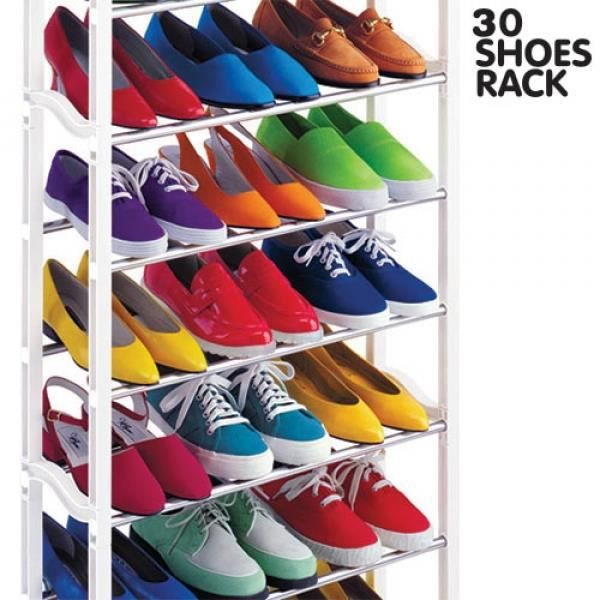 Meuble à Chaussures 30 Shoes Rack Vu à la TV