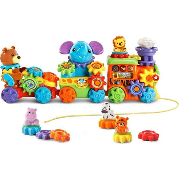 Vtech Gearzooz Roll & Roar Animal Train H5G52