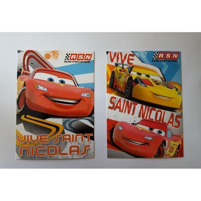 Lot 5 Carte postale de St saint Nicolas Disney Planes aleatoire 024