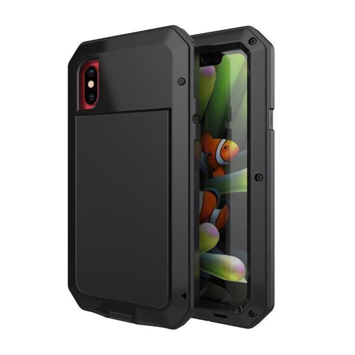 Coque Gorilla Extreme iPhone X,métal en aluminium