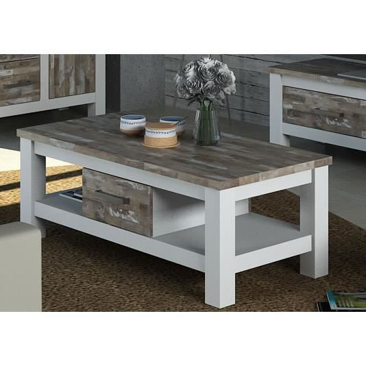 Table basse calanque meuble house achat vente table - Meuble table basse ...