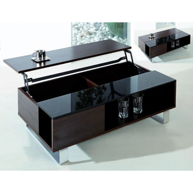 table basse relevable kendra. Black Bedroom Furniture Sets. Home Design Ideas