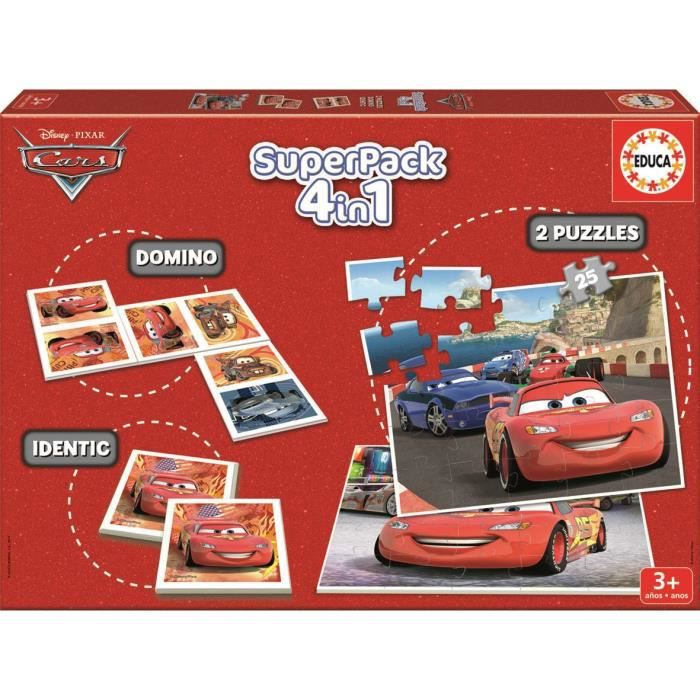 cars 2 superpack multijeux achat vente mallette multi jeux cdiscount. Black Bedroom Furniture Sets. Home Design Ideas