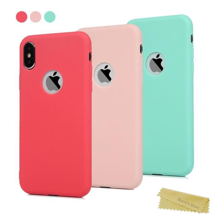 coque iphone x couleur