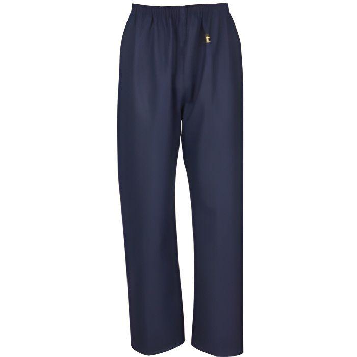 SHORT DE FOOTBALL Pantalon ciré Pouldo Glentex. Bleu navy