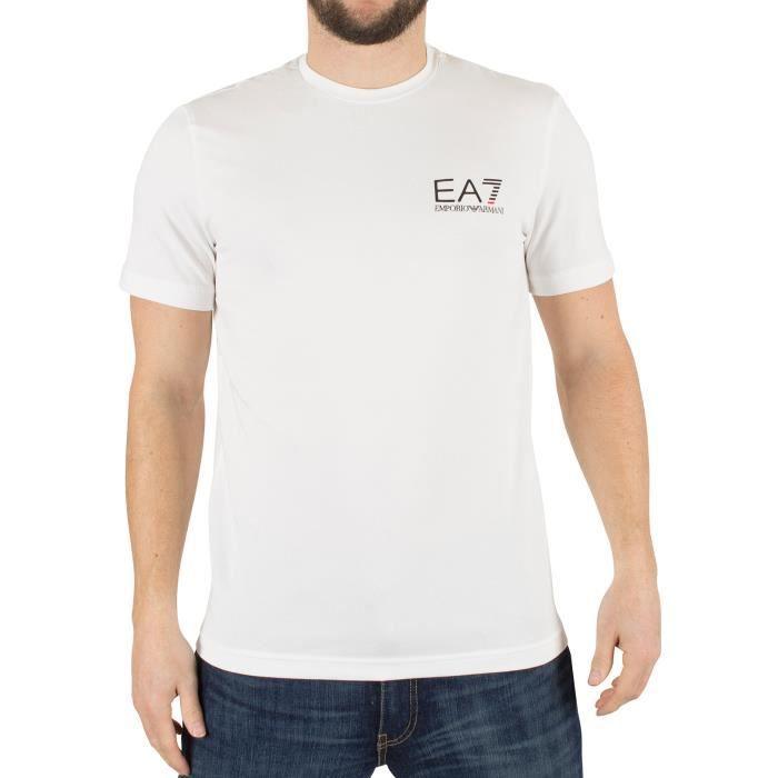 Emporio Armani Homme EA7 Logo T-Shirt, Blanc