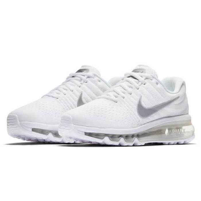 NIKE Baskets Air Max 2017 GS - Mixte - Blanc