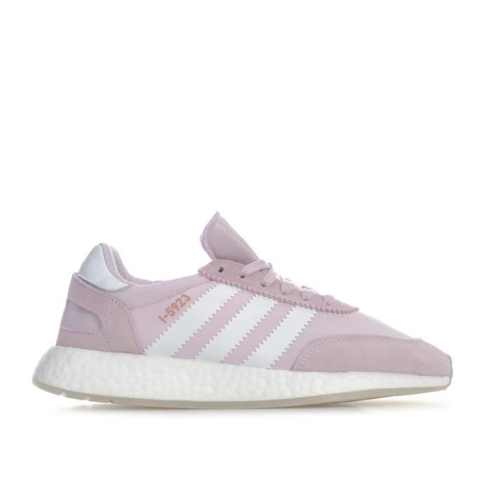 Baskets adidas Originals I-5923 pour femme en rose.