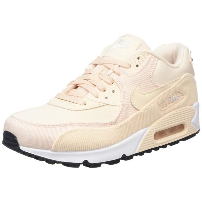 great prices in stock detailed pictures NIKE Chaussure de course à pied en cuir femme air max 90 OT7RK ...