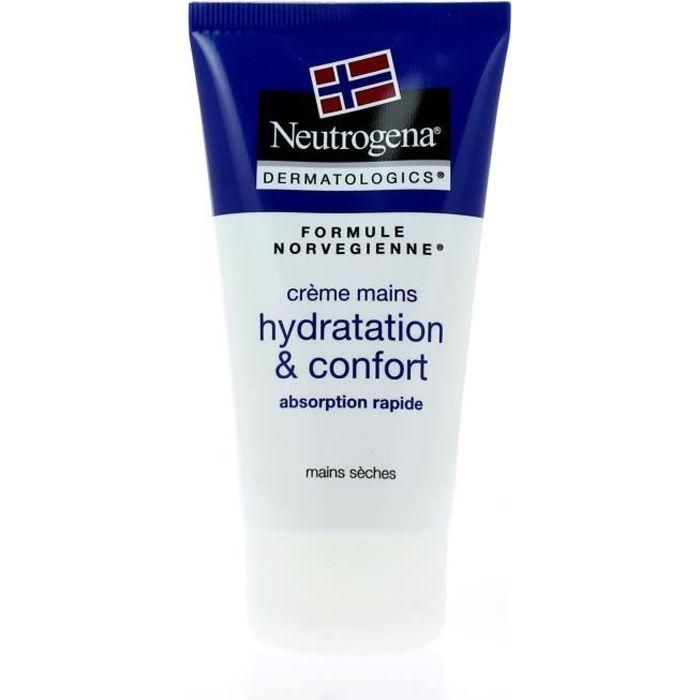 SOIN MAINS ET PIEDS NEUTROGENA Crème mains - Hydration et confort - 75
