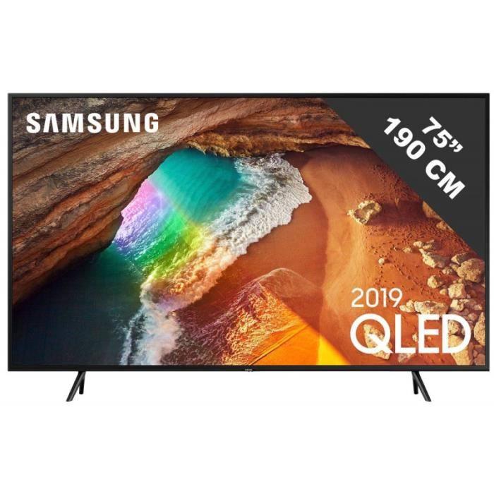 Téléviseur LED TV Samsung SAMSUNG - QE 75 Q 60 R • TV LED • TV Sa
