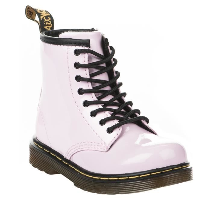 Bottines fille - DR MARTENS - Rose - 22259688 / 22257688 - Millim
